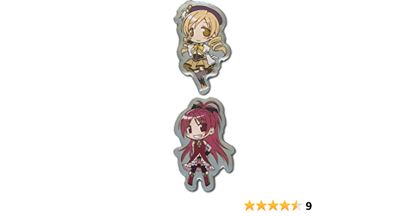 Mami and Kyoko Madoka Magica Pin Set
