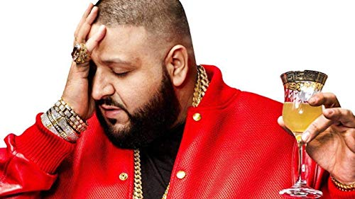 Zolto Poster DJ Khaled, Khaled Mohamed, an American Record Producer, Radio Personality, DJ, Record Label Executive and Author 12 X 18 inch