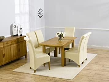Corona Muebles de Comedor de Roble pequeña Mesa de Comedor ...