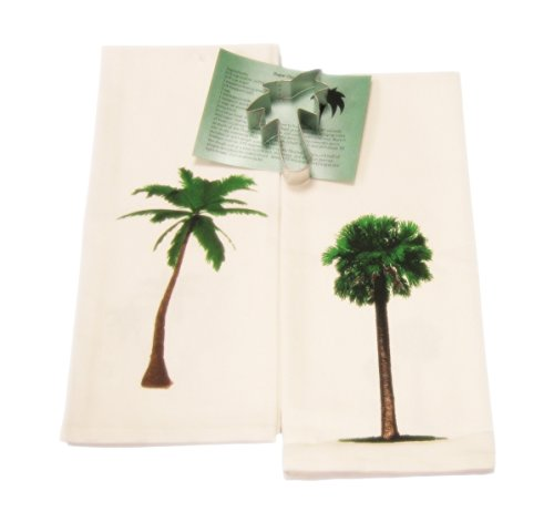 Palm Trees Cotton Dish Towels