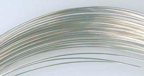 26 Gauge .925 Sterling Silver Dead Soft Wire, Round - 20 Feet_ From (Soft Round Sterling Silver Wire)