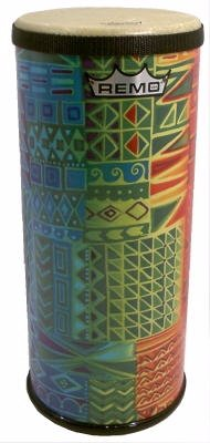 Remo Small (15'' x 6'') Festival Tubano, Rainbow Design by Remo