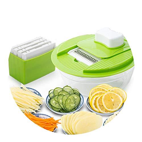 pursuit-of-self Mandoline Vegetable Slicer Dicer Fruit Cutter 1