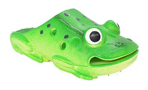 Kemosen Children Slippers Frog Kids Comfortable Sandals Ultra-Soft Cartoon Cute Garden Shoes for Toddler Little and Big Kid