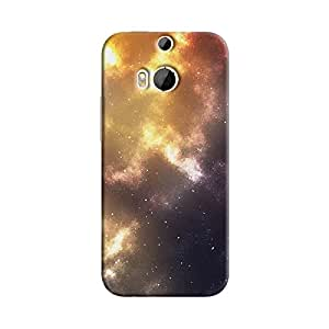 Cover It Up - Orange Pink Star Cluster HTC One M9 Plus Hard Case