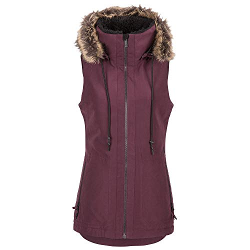 Volcom Women's Longhorn Insulated SnowVest, Merlot, Small
