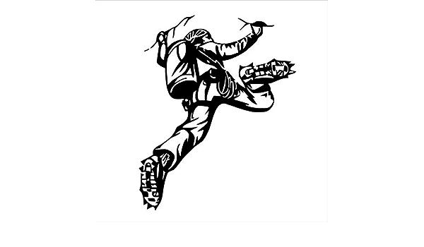 Namefeng Deportes Extremos Tatuajes de Pared Escalador de ...