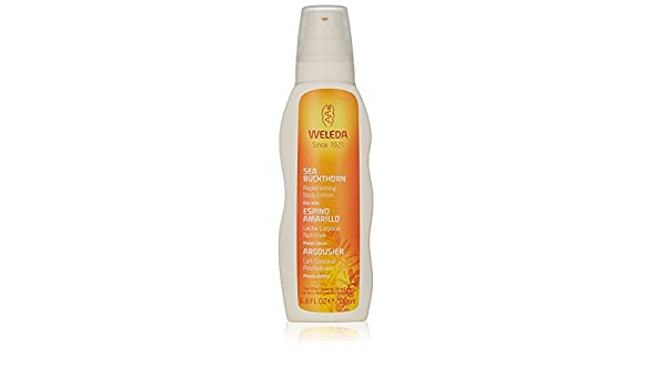Amazon.com : (4 PACK) - Weleda New Sea Buckthorn Body Lotion | 200ml | 4 PACK - SUPER SAVER - SAVE MONEY : Beauty
