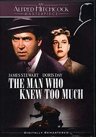 Image result for The MAn who knew too much doris day dvd
