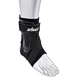 Zamst A2-DX Left Ankle Brace, Black, Medium