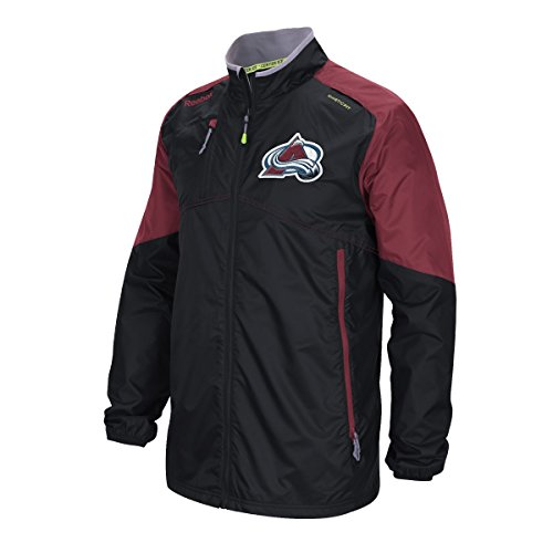 Colorado Avalanche Reebok 2015 Center Ice Kinetic Rink Full Zip Jacket