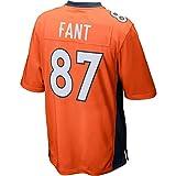 WAM8ME Womens/Mens Noah Fant Denver Broncos Orange Game Jersey