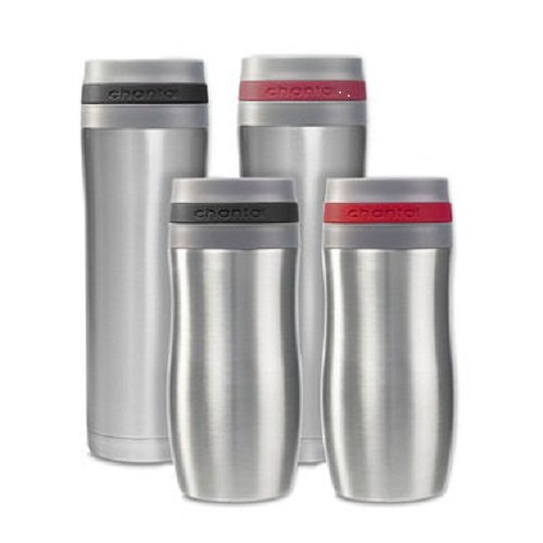 Chantal Travel Mugs Set of 4 -