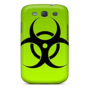 New Premium Marthaeges Green Bio Hazard Skin Case Cover Excellent Fitted For Galaxy S3