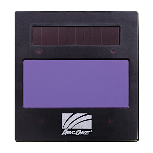 ArcOne X54VI Digital Shade Auto-Darkening Filter with Var. Shade 5-13, Light State 3, Vertical, 4 Independent Sensors for Welding Helmets, 5.25 x 4.5 x 0.267""