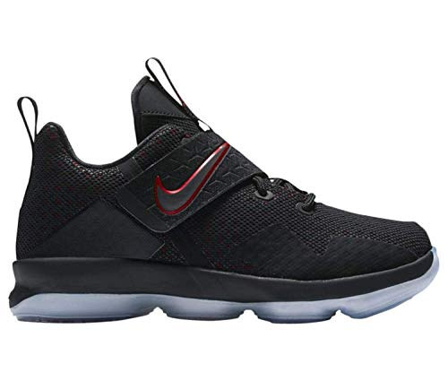 GS Basketball Shoes (Black/Black/University Red, 6.5 Big Kid US) ()