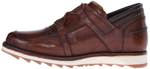 a.testoni Men's M40312RMM Fashion Sneaker, Caramel, 8 M US
