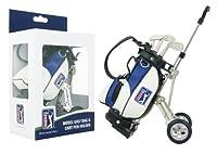 PGA TOUR Gadget Desktop Golftasche und Kugelschreiber Geschenkset, silber /...