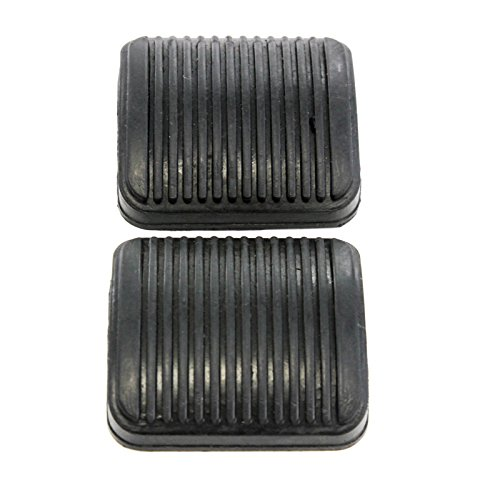 1986 Comanche Auto Jeep 1992 (Red Hound Auto 2 Manual Transmission Brake Pedal or Clutch Pads Compatible with Ram 1500 2002-2008 & Jeep Wrangler 1997-2006)