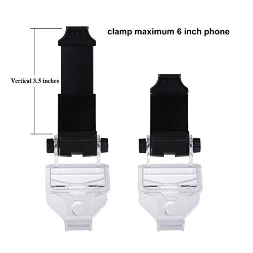 Link-e: Support universel smartphone / téléphone / mobile avec câble micro USB pour manette sans fil PS4 (pince, clip, Samsung, Android, HTC, Sony ...)