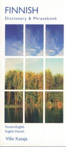 Finnish Dictionary And Phrasebook  Finnish English English Finnish  Hippocrene Dictionary And Phrasebooks