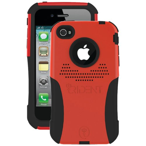 Aegis iPhone Case for iPhone 4/4S Red