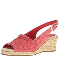 Easy Street Women's Kindly Espadrille Wedge Sandal