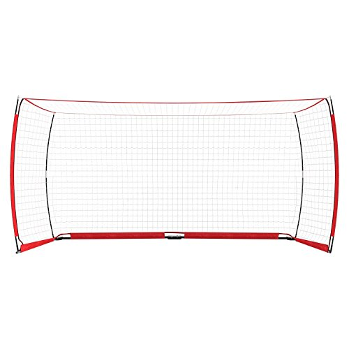 Corgy Portable Soccer Football Goal Net with Carry Bag Portable Bow Style Net(US STOCK) by Corgy