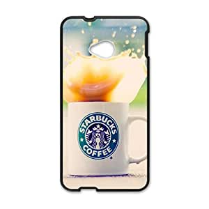 Happy Delicious coffee Starbucks design fashion cell phone case for HTC One M7