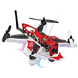 RISE RXD250 Brushless Radio Control Receiver-Ready Extreme Durability Racing Drone CC3D Flight Controller Camera Mount