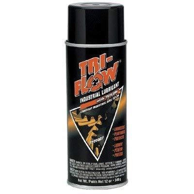 - Tri-Flow TF20027 Industrial Lubricant, 12 oz Aerosol Can (Case of 12)