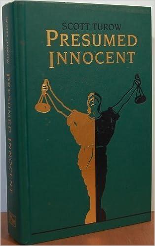 presumed innocent scott turow 9780762102549 amazoncom books - Presumed Innocent Book