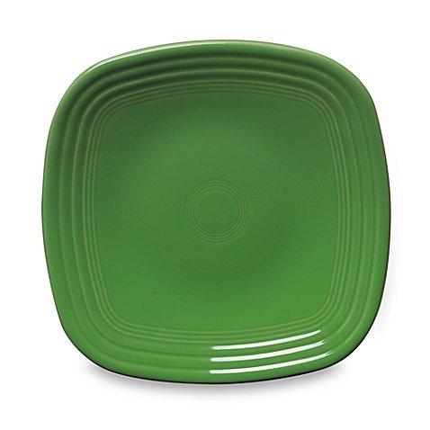 (Fiestaware Square Salad Plate - Shamrock Green)