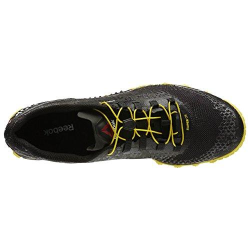 Reebok All Terrain Super or–Black/White/Yellow/Co