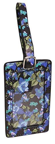 Jessica Simpson Id Tag, Black - Tag Luggage Floral