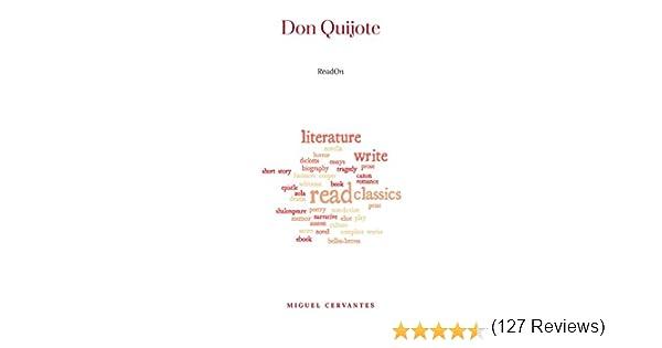 Don Quijote eBook: Miguel Cervantes: Amazon.es: Tienda Kindle