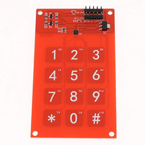 Gazechimp MPR121 módulo de Sensor táctil Capacitivo 3 x 4 ...