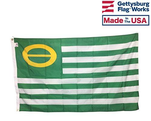 4x6' Ecology Flag, All Weather Outdoor Nylon, Made In USA