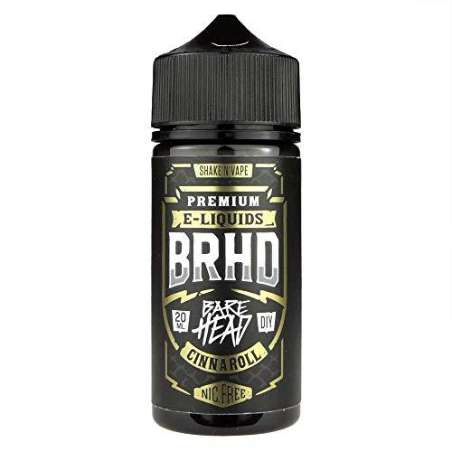 Barehead Aromakonzentrat Weird Vibes – Cinnaroll, zum Mischen mit Basisliquid für e-Liquid, 0.0 mg Nikotin, 20 ml