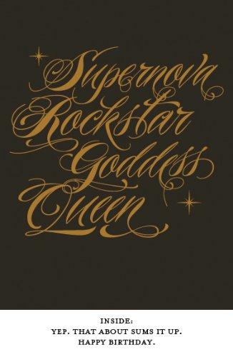 (Quiplip AC07 Awesome Collection Supernova Birthday Card)