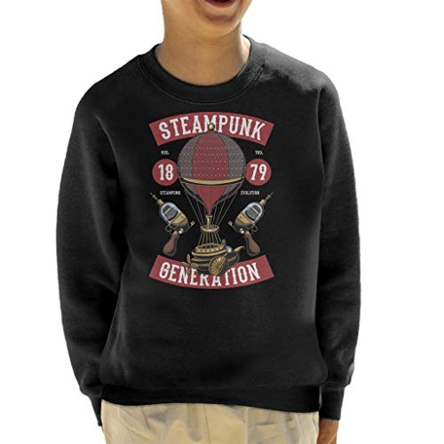 Coto7 Steampunk Generation Kid's Sweatshirt