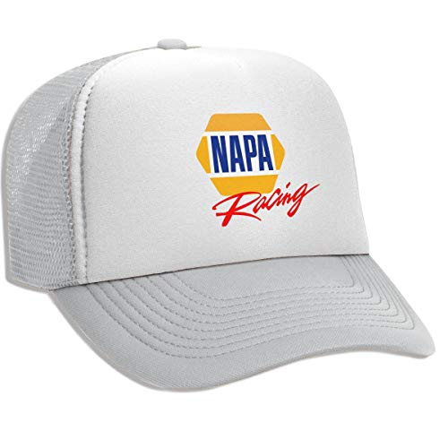 Napa Auto - Trucker Hat NAPA AUTO Parts Mesh Baseball Caps with Adjustable Strap for Men Women Gray