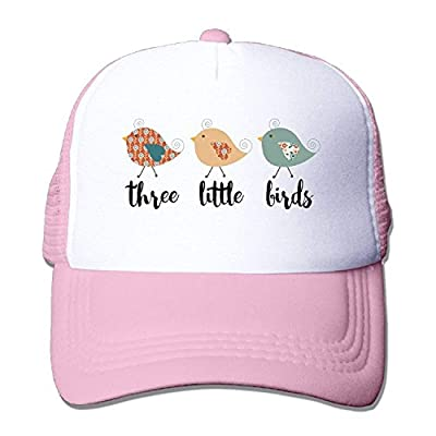 Doormat bikini PersonHat Unisex Cute Three Little Birds Mesh Trucker Hats Cute Snapback Hat For Men Or Women by Doormat bikini
