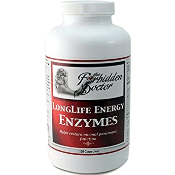 Amazon.com: Longlife energía enzimas, 1 Mo supply-pancreatin ...