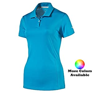 PUMA Golf Women's Cresting Pounce Polo