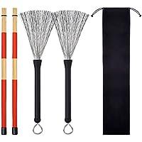 Hot Rods Drum Sticks Drum Wire Brushes Drum Brushes Drum...