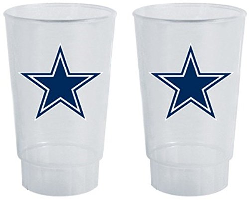 NFL Dallas Cowboys 4-Pack 16oz. Plastic Cups