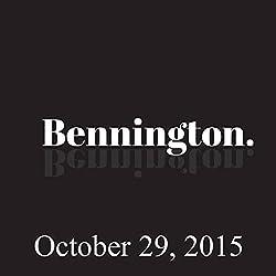 Bennington, Sienna Miller, Stanley Tucci, and Joe Jackson, October 29, 2015
