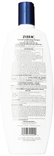 Zodiac Oatmeal Conditioning Shampoo for & 18-ounce