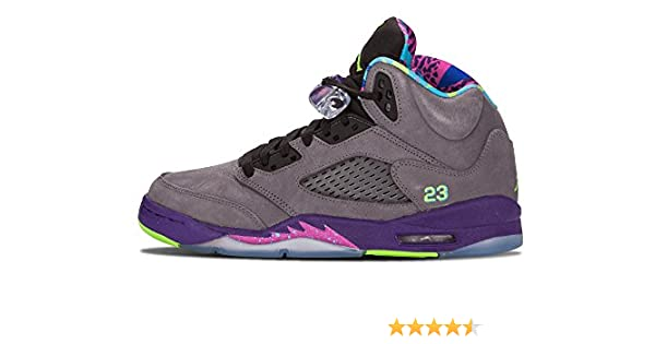 huge selection of f187f b0780 Amazon.com  Jordan Air Mens 5 Retro Bel Air  Shoes